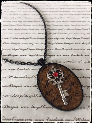 Goth Collection - Ruby Kissed Key