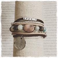 Boho Love Wrapped Bracelet- front.jpg