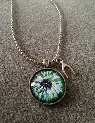 WIshes Pendant- Green