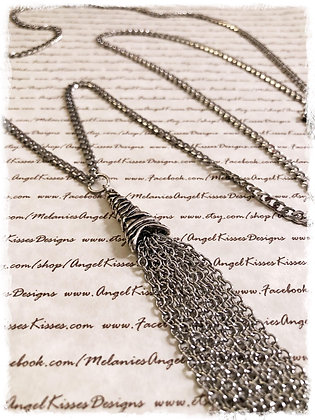 Stainless Long Tassel Necklace