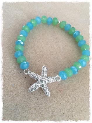 Ocean Starfish Stretch Bracelet