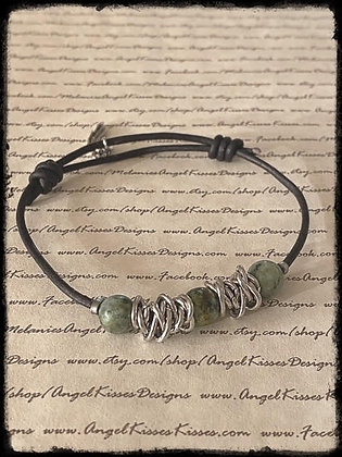 Chained Up- African Turquoise
