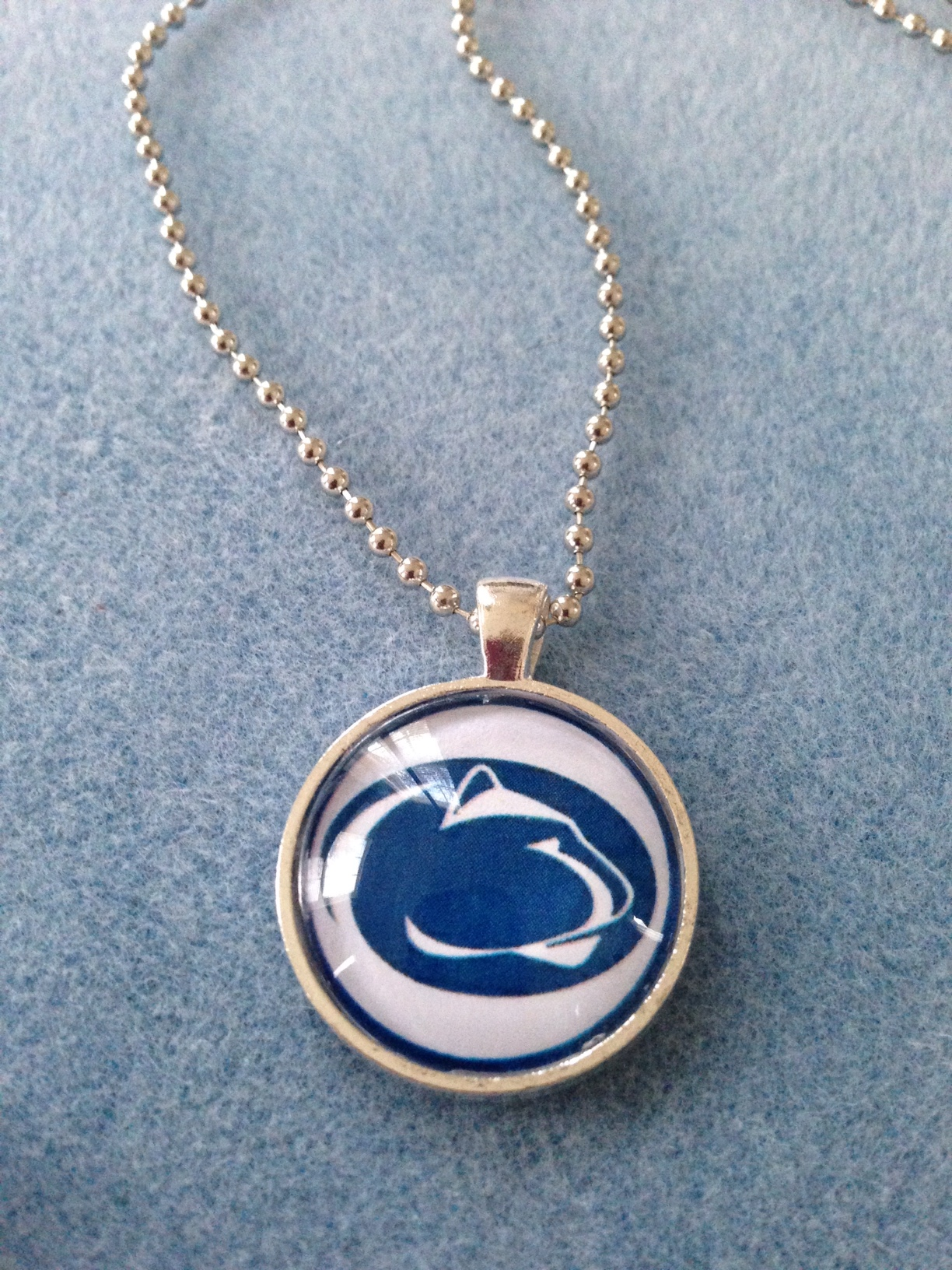 Simple Circle Pendant- Penn State