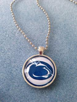 Simple Circle Pendant- Penn State