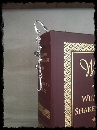 Monogramed Bookmark