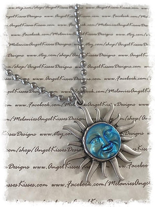 Man In Moon Meets Sun Choker