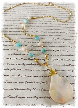 Beach Collection- Golden Mother of Pearl