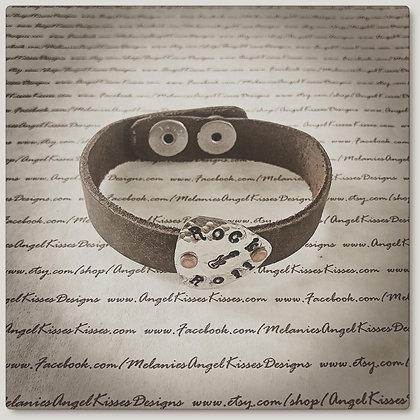 Rock N Roll Leather Bracelet