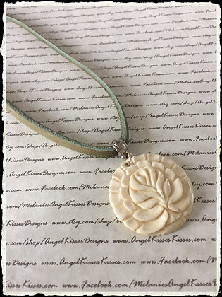 Curious Cord Collection-Olive Ivory Flower