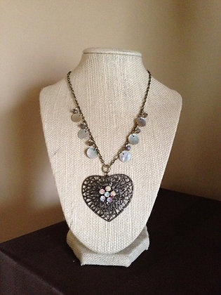 Heart N Shell Necklace