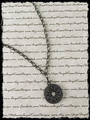 Gunmetal Medallion