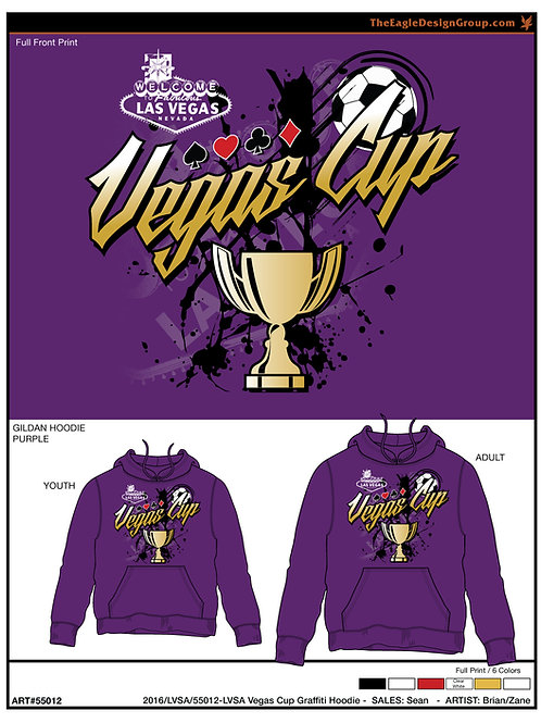 VC20 Purple Cotton Hoodie