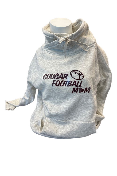 Augora Large-Neck Pull-Over w/Cougar Chest Logo
