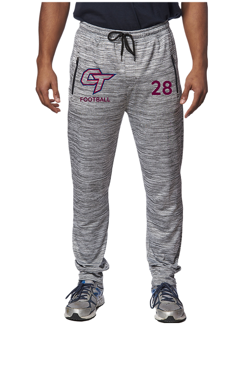 Men's Joggers with CT Football Logo(Poly)