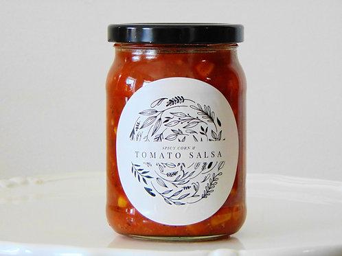Spicy Corn & Tomato Salsa