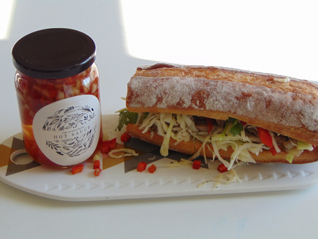 The Everything Hot Sauce Sandwich!
