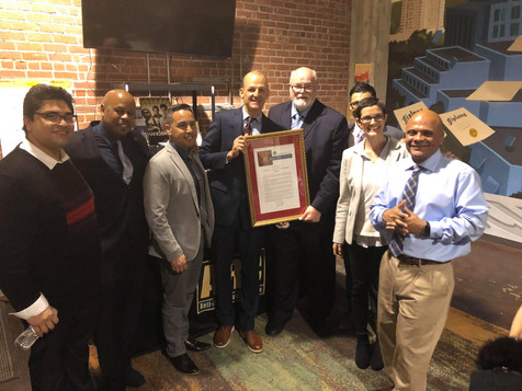 PAC and ARC members with Assemblymember Kevin McCarty and Senator Jim Beall
