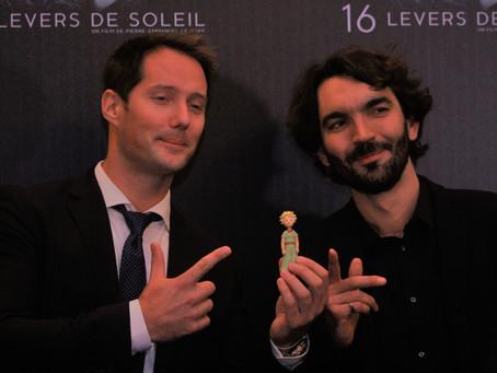 """Pierre-Emmanuel LeGoff, réal./ prod de """"16 levers de soleil"""", l'aventure spatiale de Thomas Pesquet"""