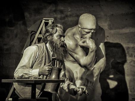 """Rodin is back: """"Le Penseur"""" de et par Jean-Baptiste Seckler continue sa route!"""