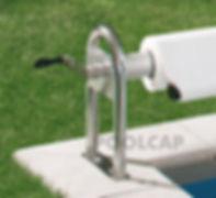 Pool Abdeckung Aufwickelvorrichtung Rond