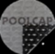 Bläschenfolie Pool 500 Mikron grau-schwarz