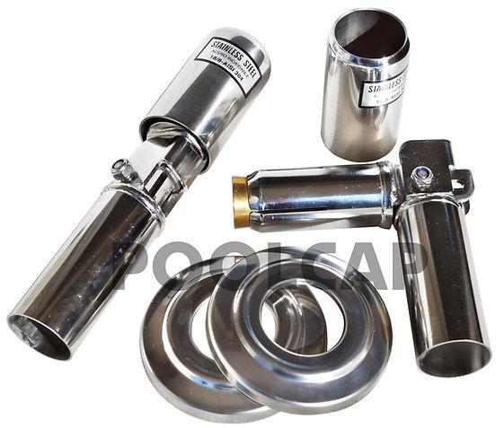 leiterkippgelenk leiterscharnier leitergelenk 43 mm Bodeineinbauhülse
