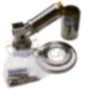 leiterkippgelenk leiterscharnier leitergelenk 43 mm Flanschmontage