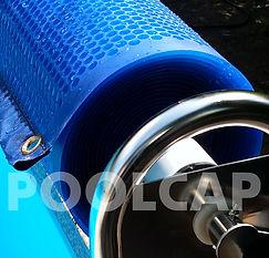 Pool Solarabdeckung Luftpolsterabdeckung Bläschenabdeckung Folienabdeckung