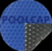 Solarfolie Pool 400 Micron blau-schwarz.