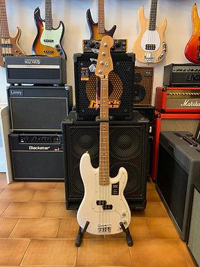 Fender Player Precision Bass Pau Ferro Polar White Mexico