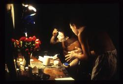 Kristallnacht dressing room scene