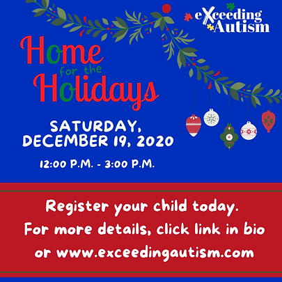 Exceeding Autism Home for the Holidays.p