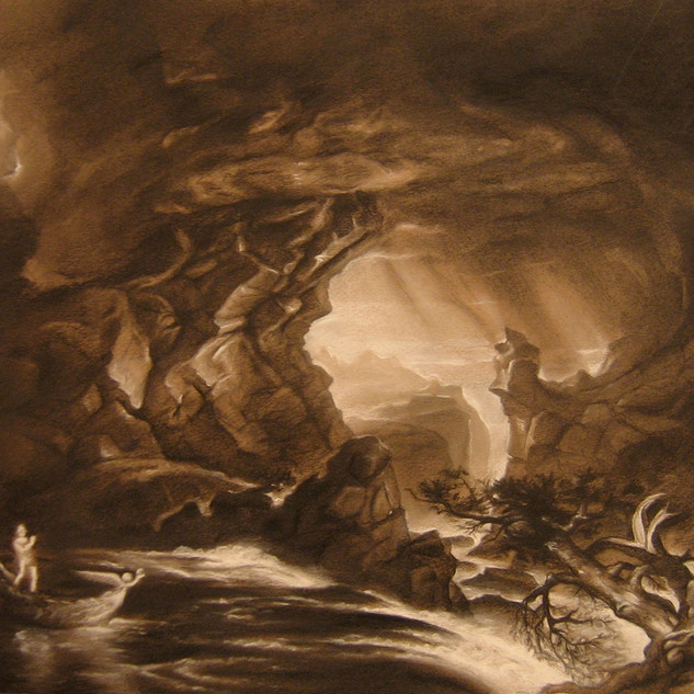 Thomas Cole Master Copy, Black and Whit