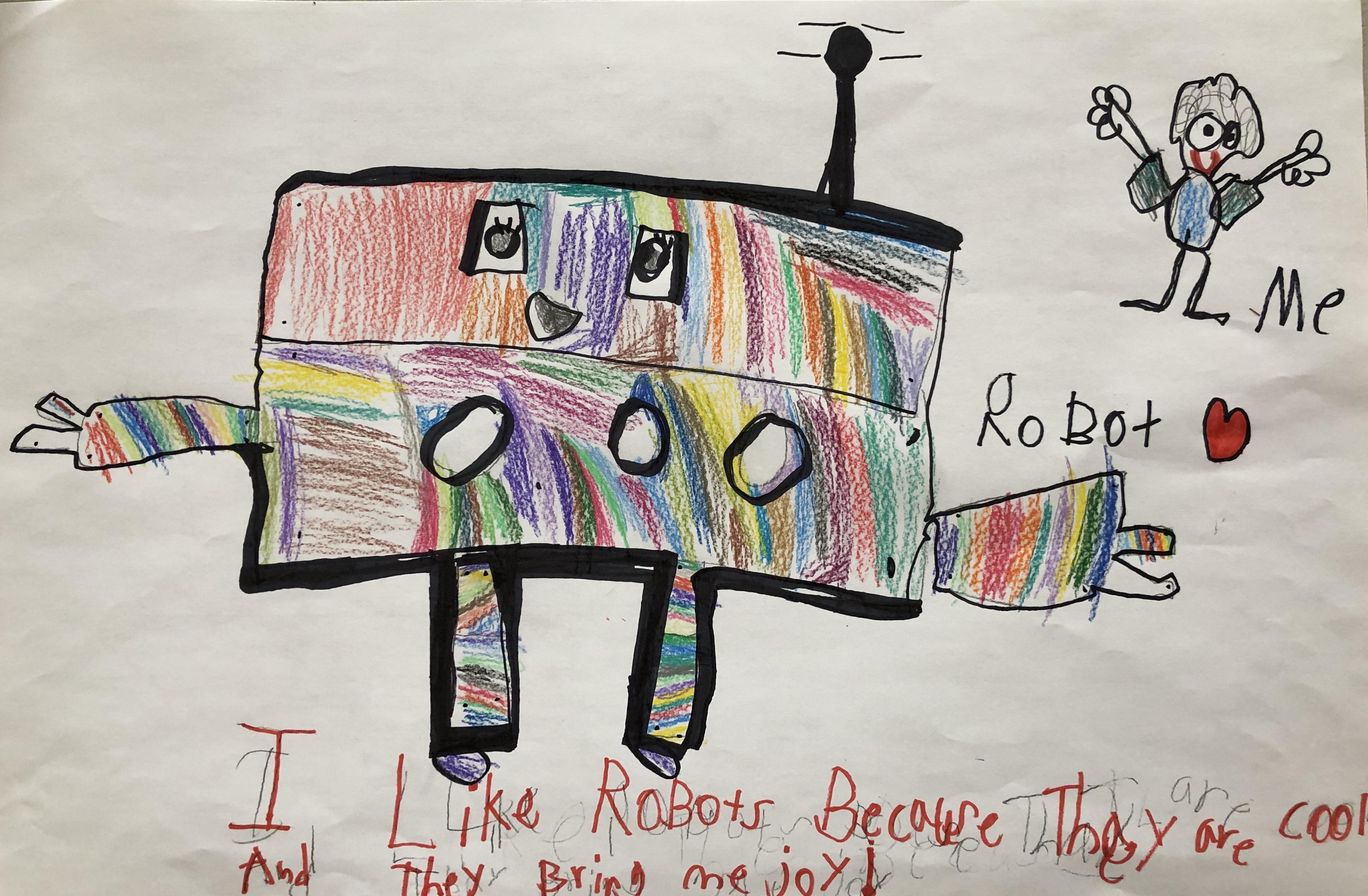 Robot + Me = Joy by Shayna Rajabian
