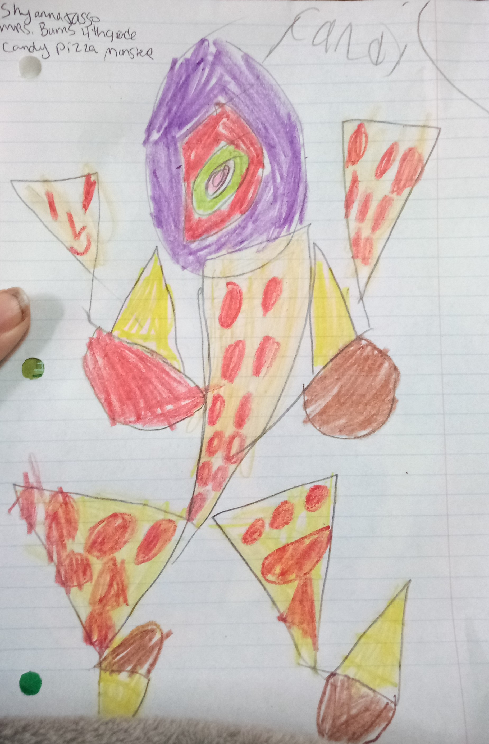 Candy Pizza Monster by Shyanna Jasso