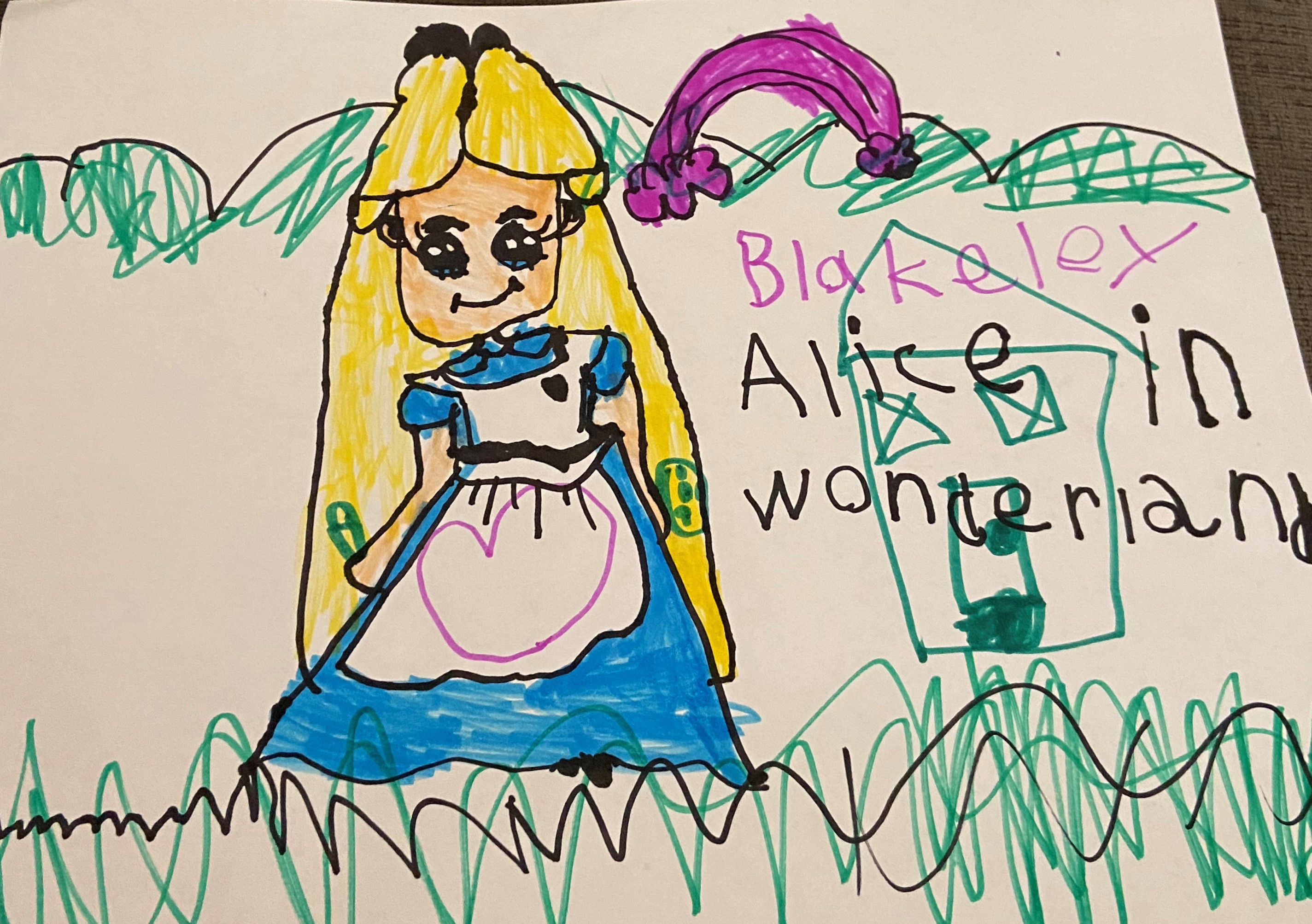Alice's Wonderhouse by Blakeley Yeo