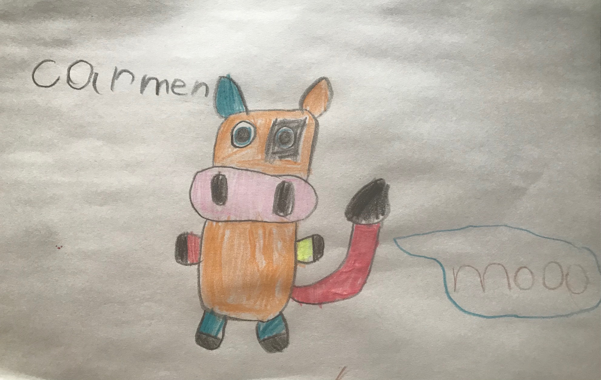 Mooo by Carmen Parker