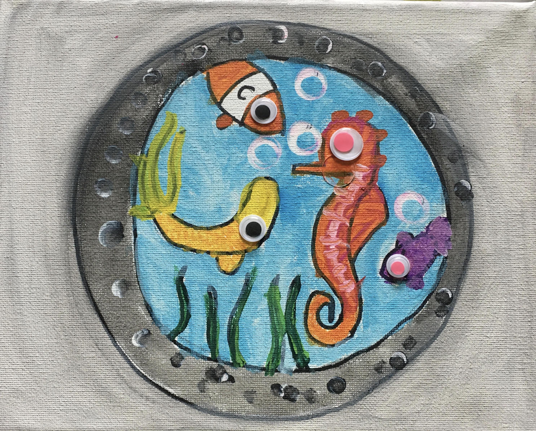 Porthole by Natalie Montes