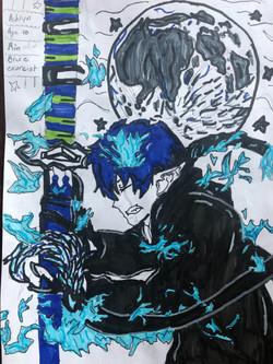 Rin Okumura by Ashlyn Andreis