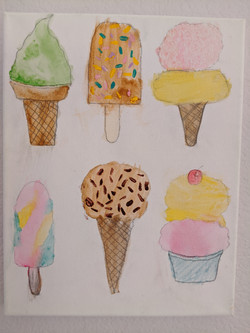 Savory Ice Creams by Blooklynne Pattanawat