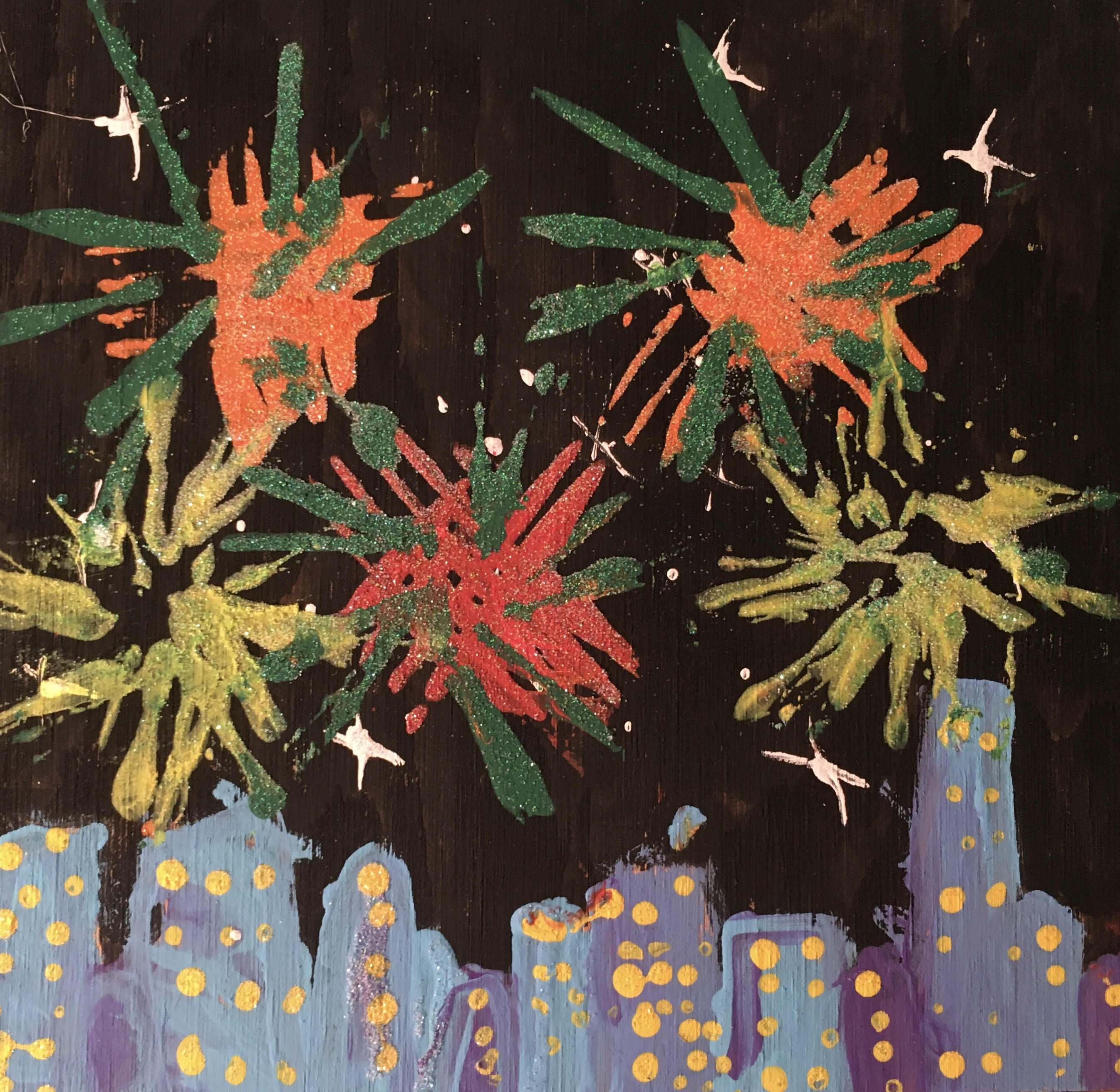 Fireworks by Natalie Montes