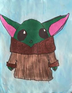 Baby Yoda by Levi Smith