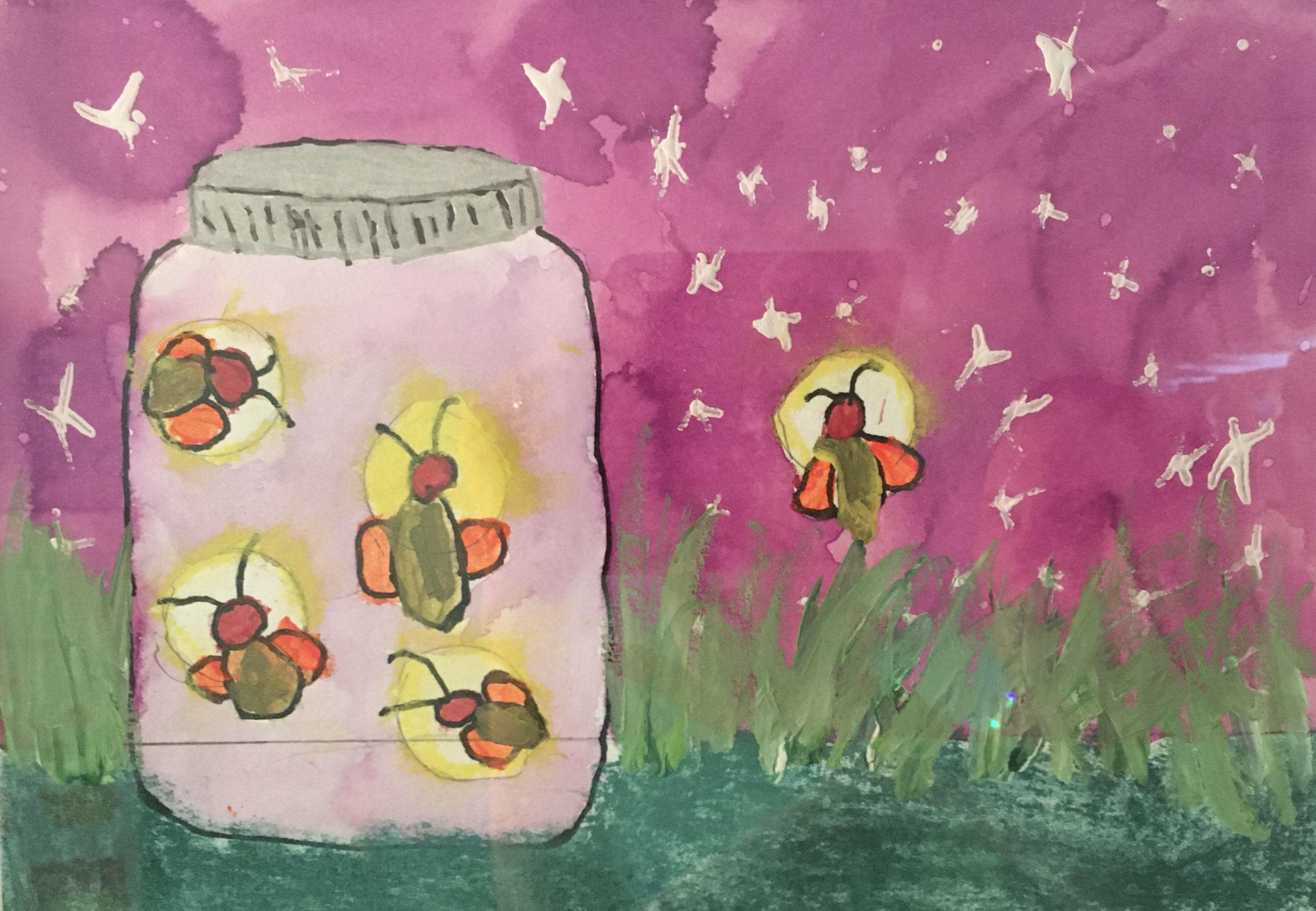 Lightening Bugs by Natalie Montes