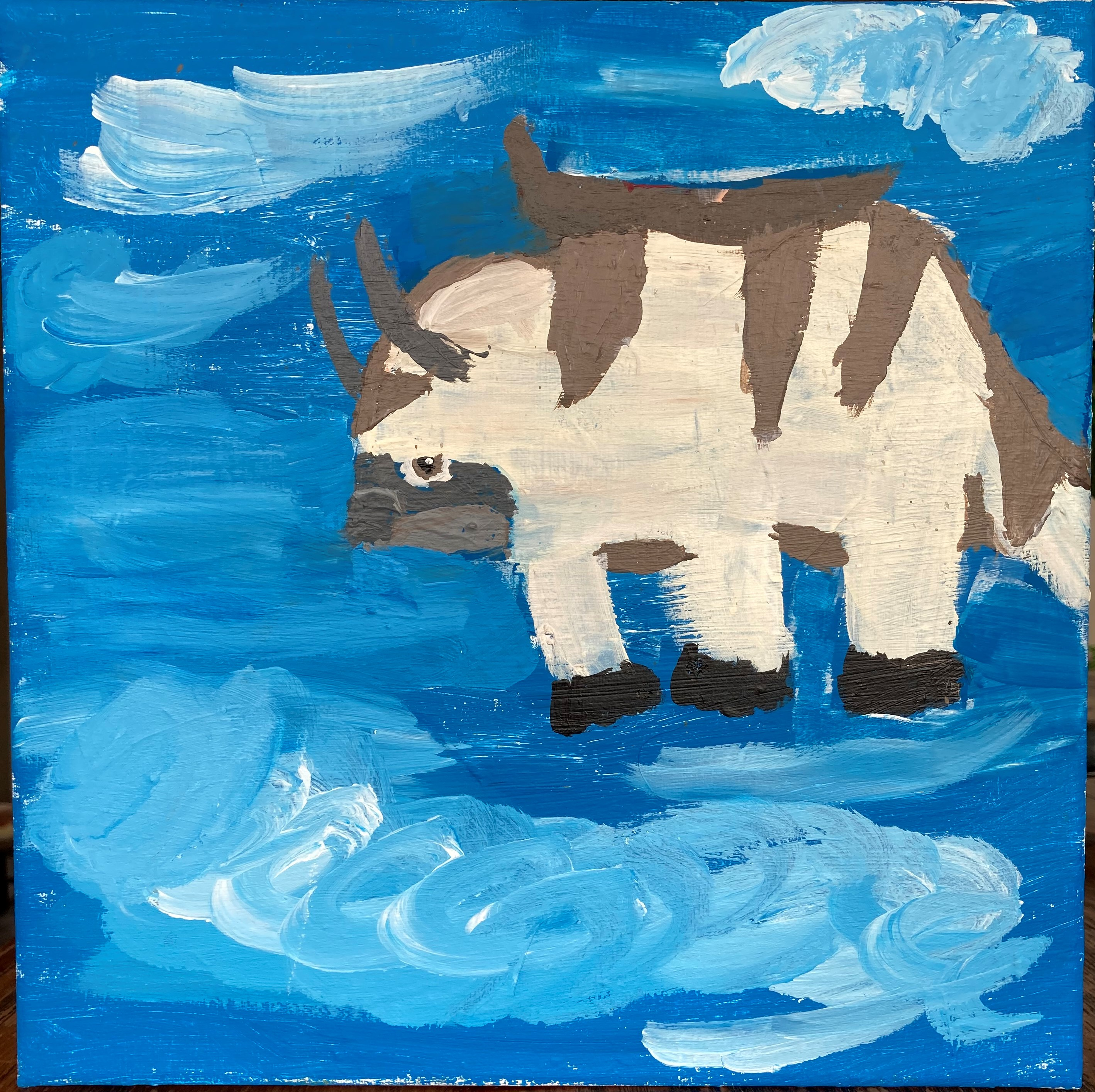 Appa in the Blue Sky by Mila Twohig