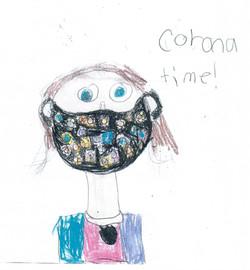 Corona Time by Peyton Urbanski