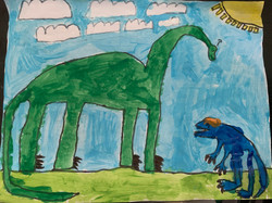 Jurassic Confusion by Hamza Ali
