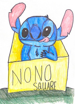Stitch's No No Square by Gabriella Conant
