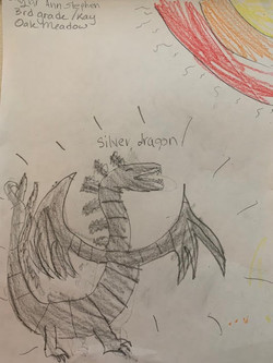 Silver Dragon by Skylar Stephen
