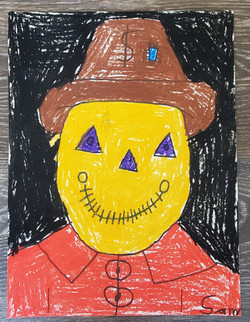 Scarecrow in Autumn by Samuel Linke