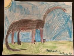 Barapasaurus by Hamza Ali